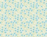 χαριτωμένο floral πρότυπο Στοκ φωτογραφία με δικαίωμα ελεύθερης χρήσης