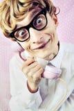 χαριτωμένο nerd στοκ εικόνες