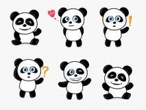 χαριτωμένο panda ελεύθερη απεικόνιση δικαιώματος