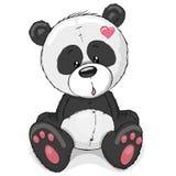 χαριτωμένο panda διανυσματική απεικόνιση