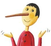 Χαριτωμένο Pinocchio Στοκ φωτογραφία με δικαίωμα ελεύθερης χρήσης