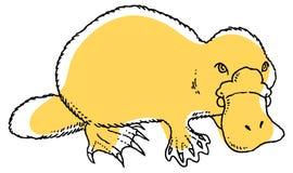 Χαριτωμένο platypus Στοκ Εικόνες