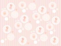 χαριτωμένο poodle προτύπων άνευ ρ απεικόνιση αποθεμάτων