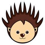 χαριτωμένο porcupine διάνυσμα Στοκ Εικόνες