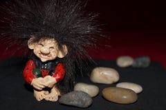 Χαριτωμένο troll Στοκ εικόνες με δικαίωμα ελεύθερης χρήσης
