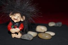 Χαριτωμένο troll Στοκ Εικόνα