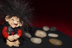Χαριτωμένο troll Στοκ φωτογραφία με δικαίωμα ελεύθερης χρήσης