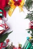 Χαρούμενα Χριστούγεννα και δώρο καλής χρονιάς Στοκ Εικόνες