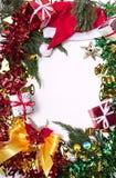 Χαρούμενα Χριστούγεννα και δώρο καλής χρονιάς στοκ εικόνα με δικαίωμα ελεύθερης χρήσης