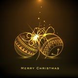 Χαρούμενα Χριστούγεννα και εορτασμοί καλής χρονιάς απεικόνιση αποθεμάτων