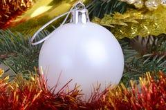 Χαρούμενα Χριστούγεννα και καλή χρονιά νέο έτος διακοσμήσεων νέο έτος έννοιας Στοκ εικόνες με δικαίωμα ελεύθερης χρήσης