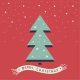 Χαρούμενα Χριστούγεννα και καλή χρονιά Στοκ εικόνα με δικαίωμα ελεύθερης χρήσης