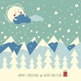Χαρούμενα Χριστούγεννα και καλή χρονιά Στοκ φωτογραφίες με δικαίωμα ελεύθερης χρήσης