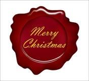 Χαρούμενα Χριστούγεννα σφραγίδων Στοκ φωτογραφία με δικαίωμα ελεύθερης χρήσης