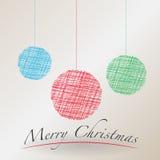 Χαρούμενα Χριστούγεννα Στοκ εικόνα με δικαίωμα ελεύθερης χρήσης