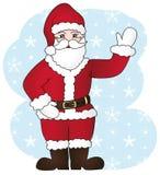 χαρούμενο santa Claus απεικόνιση αποθεμάτων