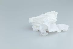 Χαρτί τουαλέτας χρήσης Στοκ φωτογραφία με δικαίωμα ελεύθερης χρήσης