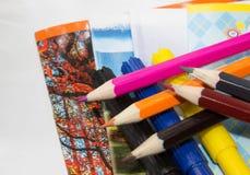 Χαρτικά για το σχολείο στοκ φωτογραφία