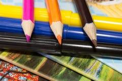 Χαρτικά για το σχολείο στοκ εικόνες