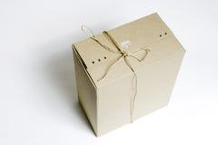 χαρτοκιβώτιο που δένετα&i Στοκ Φωτογραφία