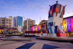 Χαρτοπαικτική λέσχη και φεστιβάλ Plaza της Αδελαΐδα Στοκ εικόνα με δικαίωμα ελεύθερης χρήσης