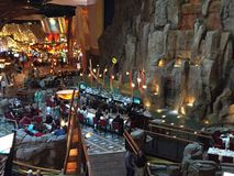 Χαρτοπαικτική λέσχη & ξενοδοχείο ήλιων Mohegan στο Κοννέκτικατ Στοκ Εικόνα