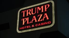 Χαρτοπαικτική λέσχη ξενοδοχείων Plaza ατού Στοκ Φωτογραφίες