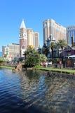 Χαρτοπαικτική λέσχη ξενοδοχείων Vegas Στοκ Φωτογραφίες