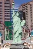 Χαρτοπαικτική λέσχη της Νέας Υόρκης και ξενοδοχείο στο Λας Βέγκας, Νεβάδα Στοκ Εικόνα