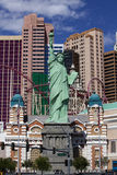 Χαρτοπαικτική λέσχη της Νέας Υόρκης και ξενοδοχείο στο Λας Βέγκας, Νεβάδα Στοκ Εικόνες