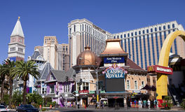 Χαρτοπαικτική λέσχη του Casino Royale στο Λας Βέγκας, Νεβάδα Στοκ εικόνα με δικαίωμα ελεύθερης χρήσης