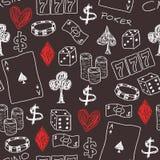 Χαρτοπαικτική λέσχη Στοκ εικόνα με δικαίωμα ελεύθερης χρήσης