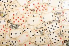χαρτοπαικτική λέσχη ανασ&ka στοκ φωτογραφία με δικαίωμα ελεύθερης χρήσης