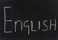 χαρτόνι αγγλικά Στοκ Εικόνα