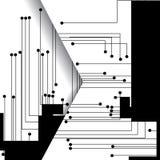 χαρτόνι ηλεκτρονικό Στοκ φωτογραφίες με δικαίωμα ελεύθερης χρήσης