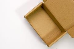 χαρτόνι κιβωτίων ανοικτό Στοκ φωτογραφία με δικαίωμα ελεύθερης χρήσης