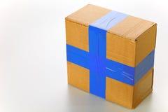 χαρτόνι κιβωτίων Στοκ φωτογραφίες με δικαίωμα ελεύθερης χρήσης