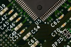 Χαρτόνι κυκλωμάτων υπολογιστών στοκ φωτογραφία με δικαίωμα ελεύθερης χρήσης
