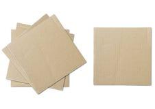 χαρτόνι που ανακυκλώνετ&alph Στοκ Εικόνες