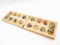 χαρτόνι που διπλώνει το mancala παιχνιδιών Στοκ εικόνες με δικαίωμα ελεύθερης χρήσης