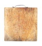 χαρτόνι που κόβει βρώμικο ξύλινο Στοκ Φωτογραφία