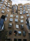 Χαρτόνι όπως την οικοδόμηση Στοκ φωτογραφία με δικαίωμα ελεύθερης χρήσης