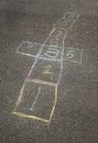 χαρτόνι hopscotch Στοκ Εικόνα