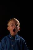χασμουρητό Στοκ εικόνες με δικαίωμα ελεύθερης χρήσης