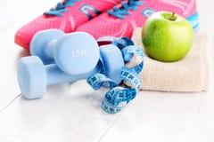 χαλάρωση ικανότητας έννοιας σφαιρών pilates Στοκ Εικόνα