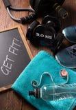 χαλάρωση ικανότητας έννοιας σφαιρών pilates Στοκ Φωτογραφία