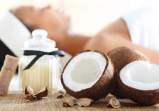 Χαλάρωση, περισυλλογή, aromatherapy Wellness & SPA Στοκ Εικόνες