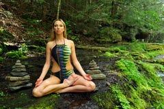 Χαλάρωση στο δάσος Στοκ εικόνα με δικαίωμα ελεύθερης χρήσης