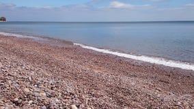 Χαλίκια και θάλασσα Στοκ φωτογραφίες με δικαίωμα ελεύθερης χρήσης