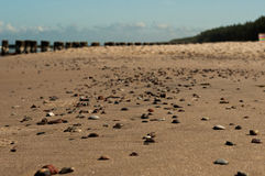 Χαλίκια στην παραλία 3 Στοκ φωτογραφίες με δικαίωμα ελεύθερης χρήσης